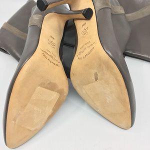Via Spiga Shoes - VIA SPIGA Leather and Suede Knee Boots